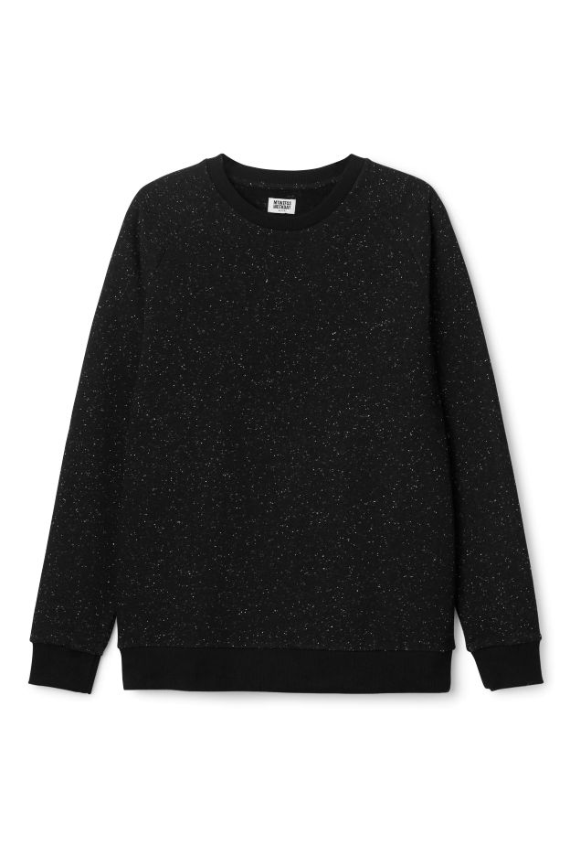 Weekday image 3 of Paris Neps Sweater in Black