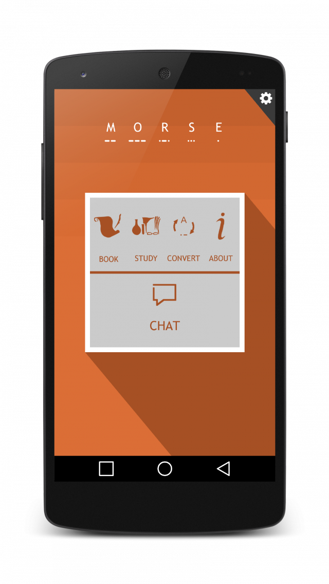Morse Me App for Android Morse Me is designed to help
