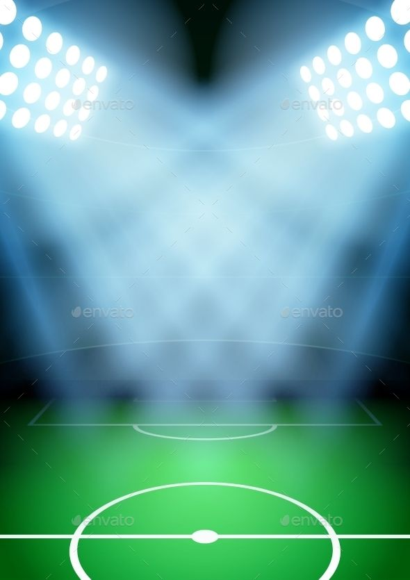 Background For Posters Night Soccer Football Stadium Football Stadiums Soccer Stadium