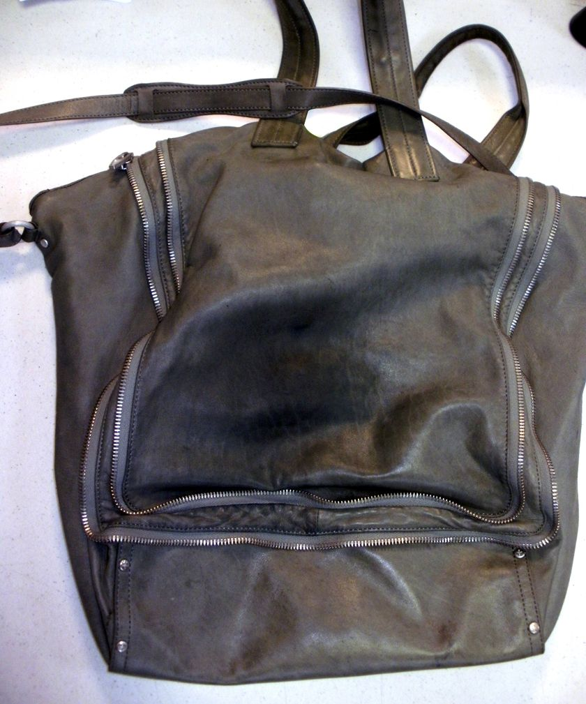 b61a47e05231 Alexander Wang bag suffering from dye transfer before Stains