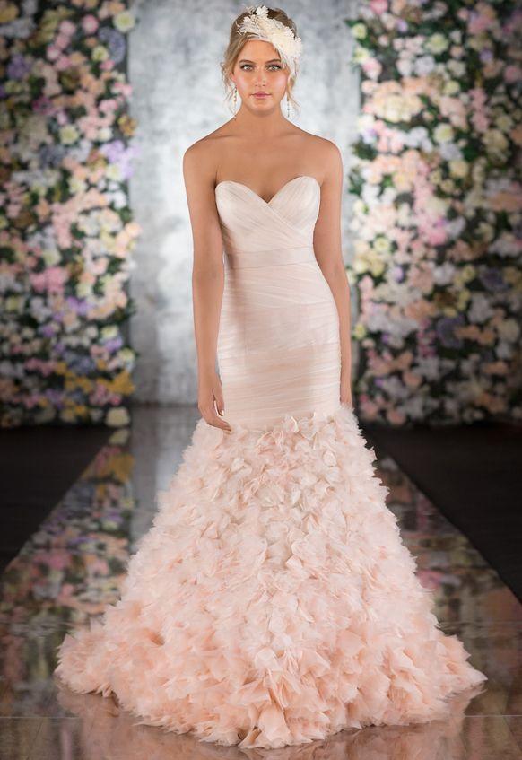 Pink Designer Wedding Gowns