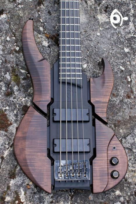 Eye's Bass Guitars Germany EBG-5 Cocoa 5-String Bass