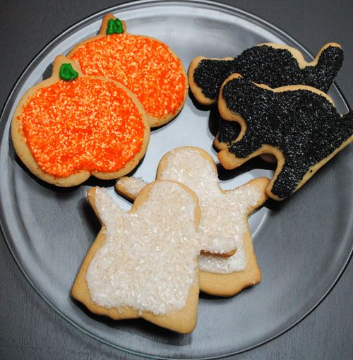 Halloween Sugar Cookies | halloween sugar cookies are the exact ...