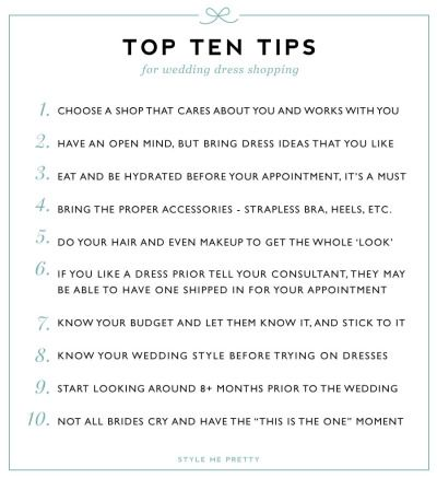 10 Tips For Wedding Dress Shopping Tips For Wedding Dress Shopping Wedding Dress Shopping Wedding Dresses Simple