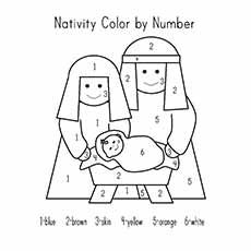 Nativity coloring pages for children ~ Top 10 Free Printable Nativity Coloring Pages Online ...