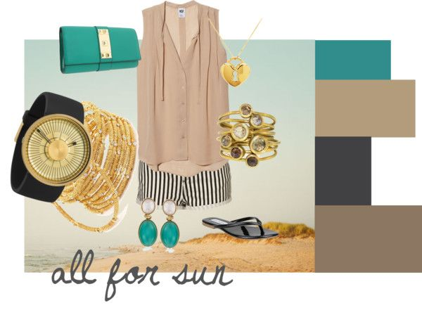 """""""all for sun"""" by rachael-hagedorn on Polyvore"""