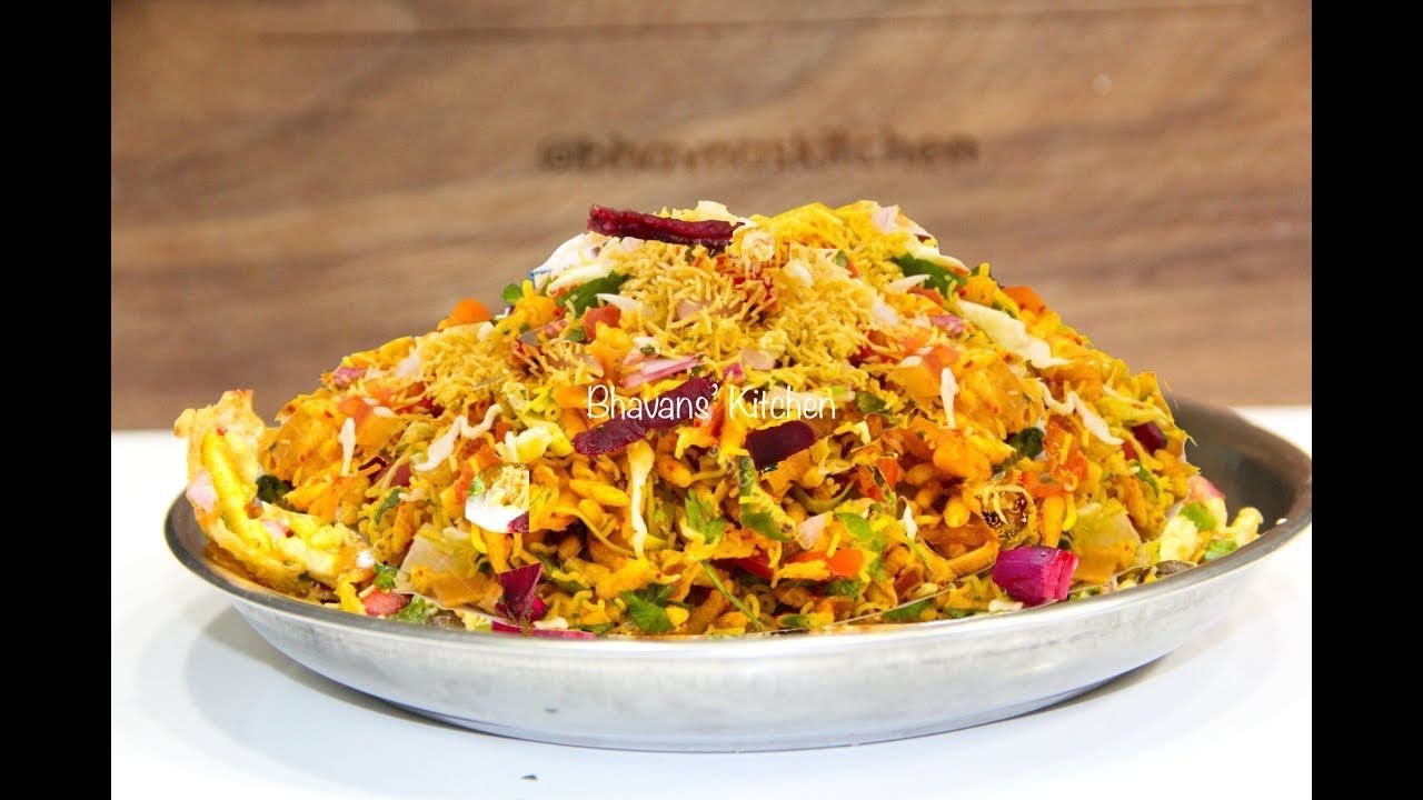 रगड भल Ragda Bhel Chaat Video Recipe Indian