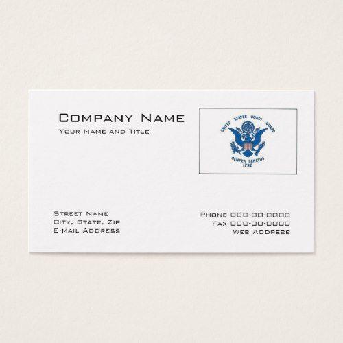 Coast Guard Business Card Pinterest Coast Guard Business Cards