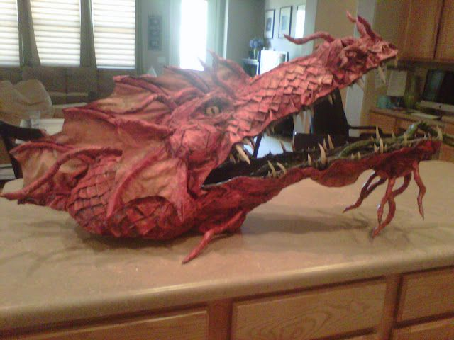 Pretty Awesome Insane How To Make A Paper Mache Dragon 39 S