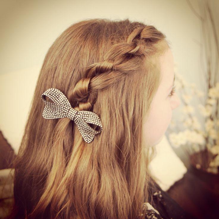 Cute Hairstyles For School 17 Maneras De Agregarle Un Moño A Tus Peinados  Hair Style