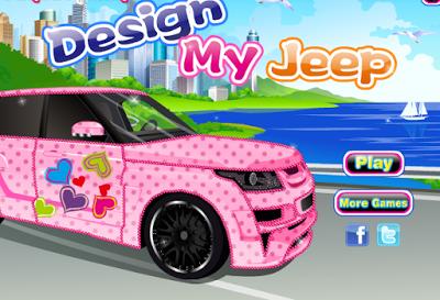 العاب تصميم ورسم السيارة Play more games, Jeep, Toy car