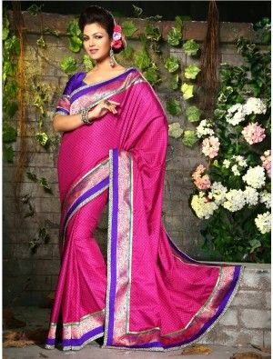 http://aiuchefashion.com/women-wear/saree/silk-sarees/92824977.html We Have Ensemble A Symphony Of Enchanting Piece To Restyle Your Senses. Create A Smoldering Impact By This Pink Pasmina Saree. This Lovely Attire Is Looking Extra Beautiful With Embelishment Of Block Print, Patch Work, Resham & Stones Work.