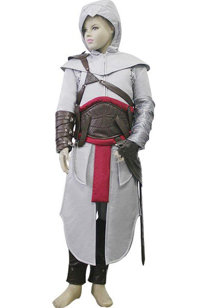 High Quality Assassin S Creed Altair Cosplay Costume For Kid