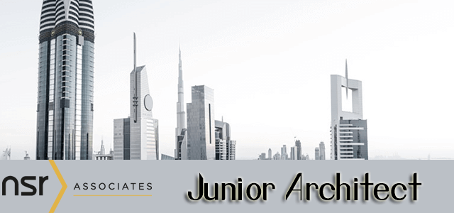 Junior Architect Jobs In NSR Associates. Degree Level In Architecture Or  Architectural Design. You Will Be Experienced In Working For A Main  Contractor.