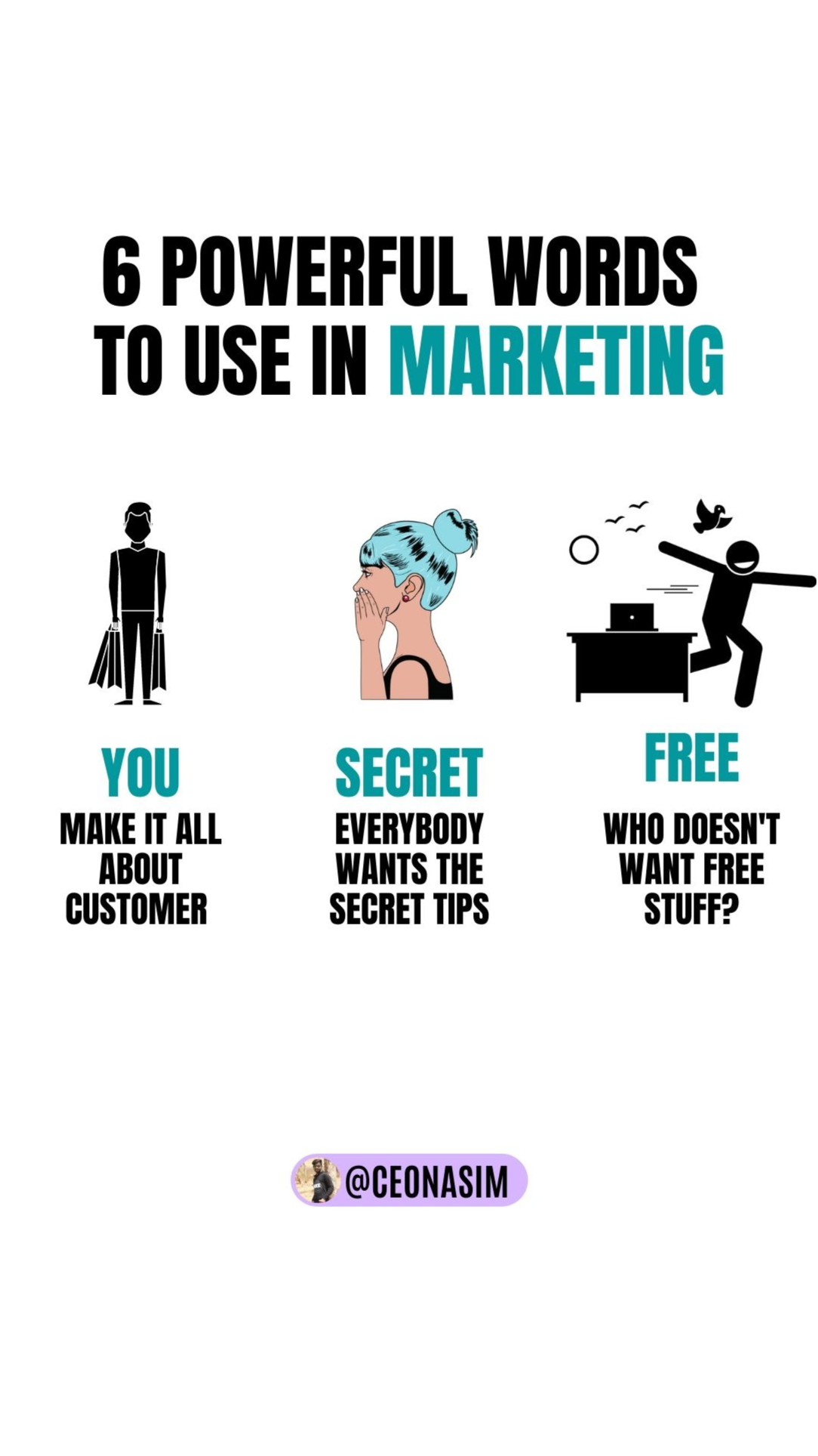 6 powerful words to use in marketing