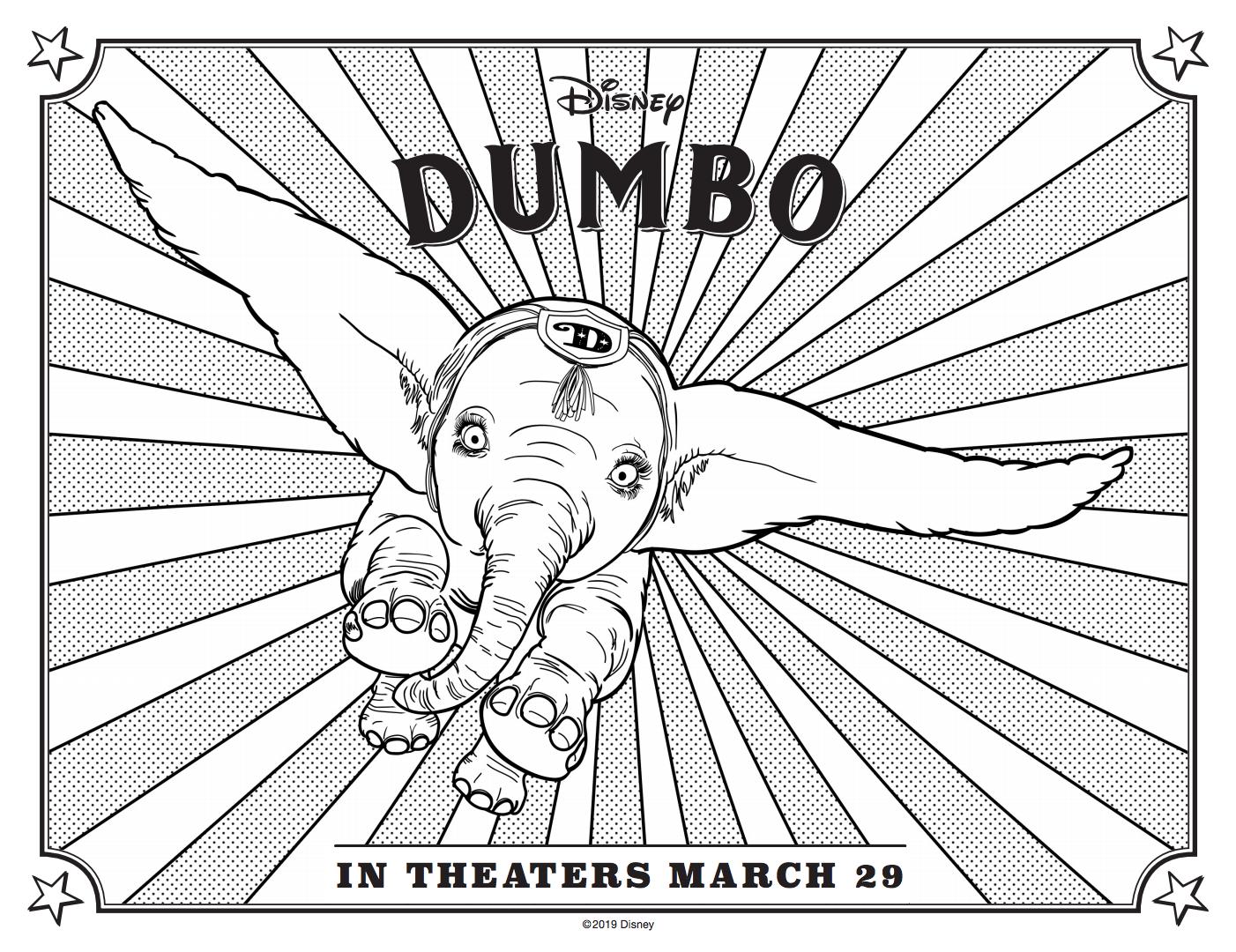 Dumbo Printables Blu Ray Dvd Digital