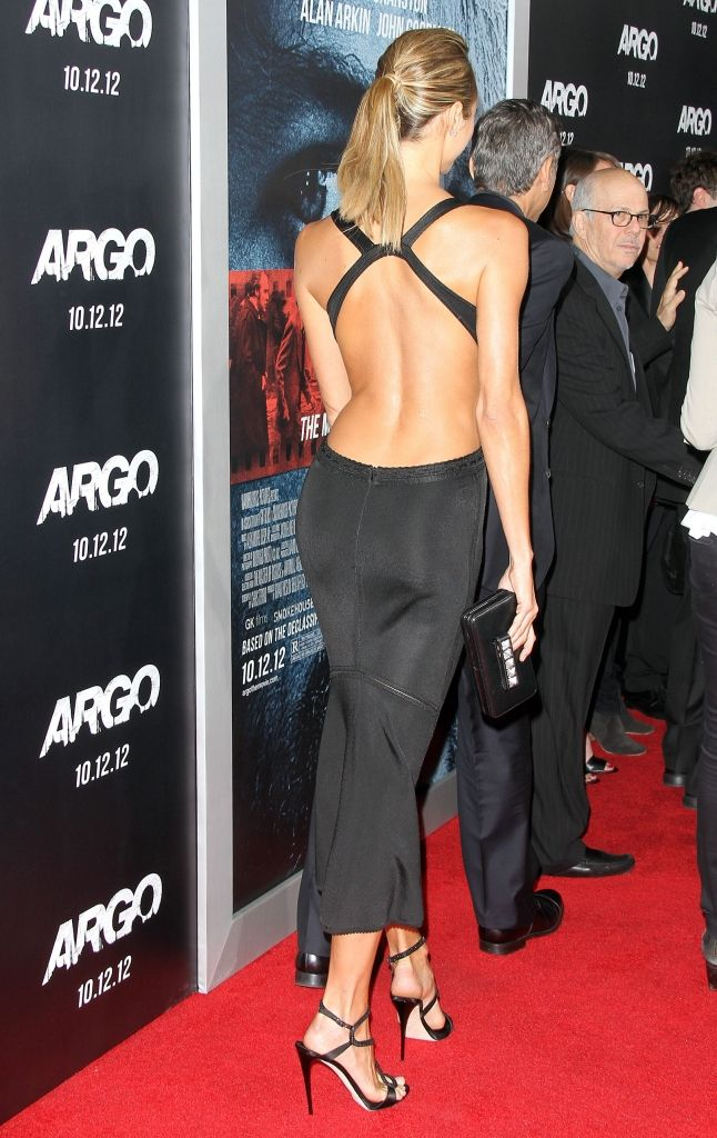 Stacy Keibler in Alaia, Argo premiere.