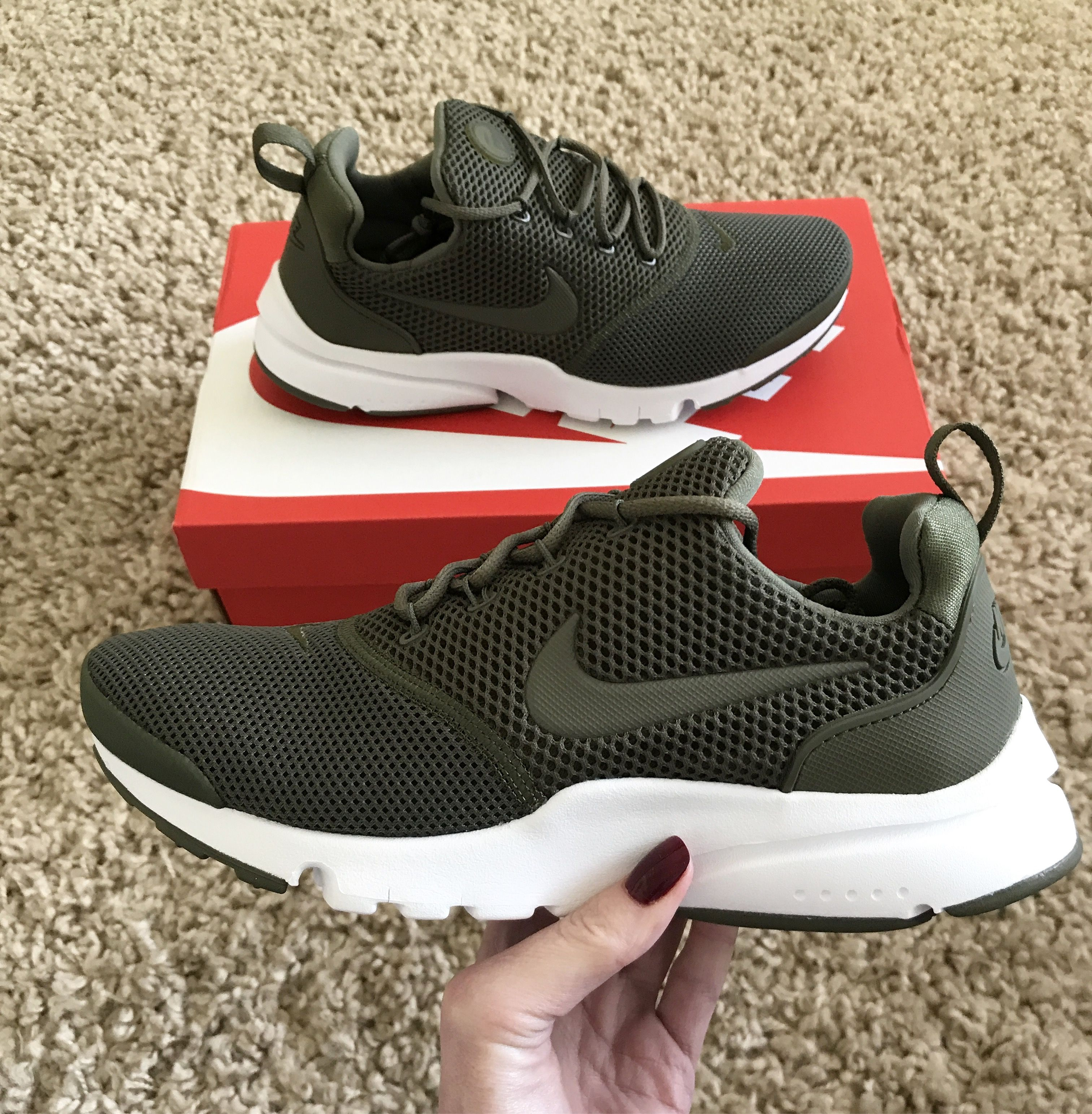huge discount 6370f 6afed New Presto Fly kicks in olive green. Comfy AF.