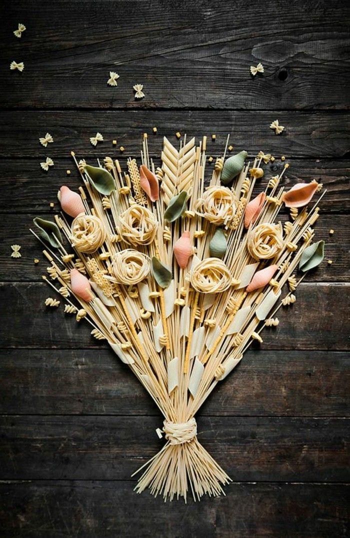 geschenke aus der kuche pasta spagetti straus deko geschenk aus - geschenke für die küche