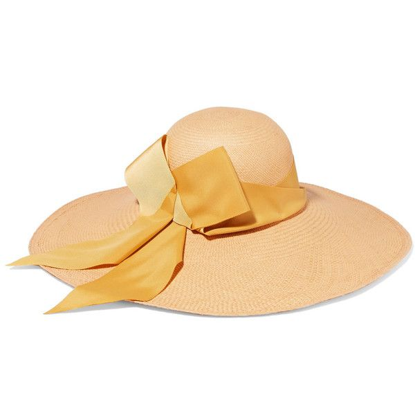 Lady Ibiza Bow-embellished Toquilla Straw Hat - Beige Sensi Studio Best Store To Get Online Amazon For Sale Footlocker Pictures Cheap Price UVTSdD