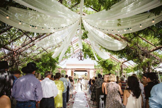 Fun Outdoor Wedding At Hotel Albuquerque
