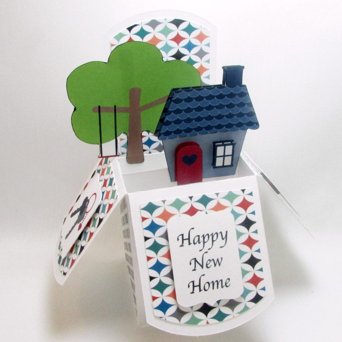 New Home Card New House Pop Up Card Housewarming Card Card For