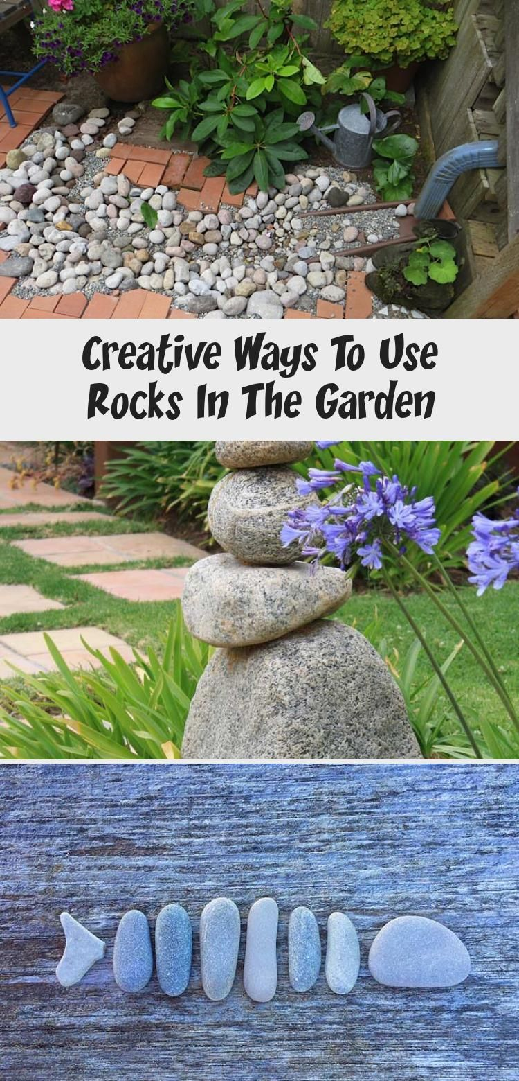 Creative Ways To Use Rocks In The Garden In 2020 Primitive