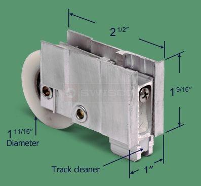 81 133 sliding door roller alcan