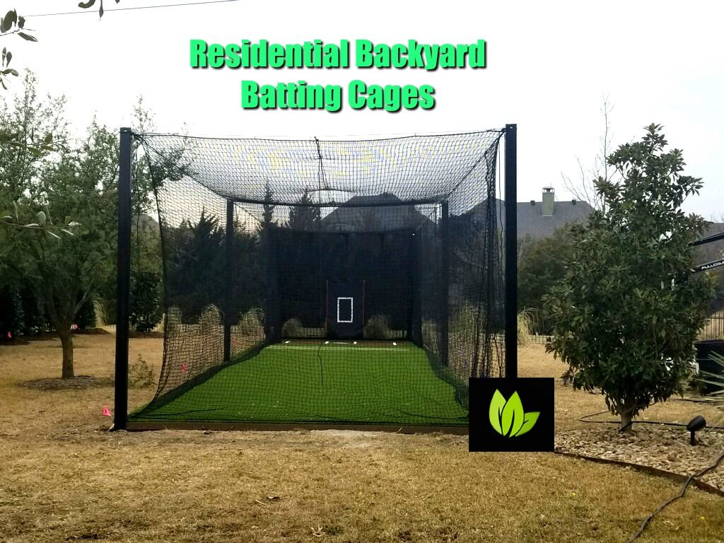 Residential Backyard Batting Cages By Absolutely Bushed