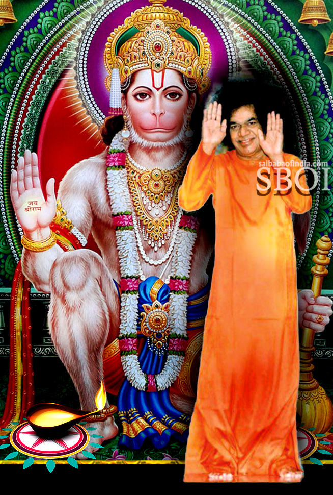 Sathya Sai Baba & Hanuman Photos Blessings in 2020