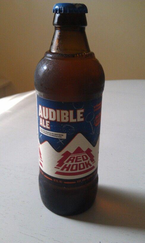 Red Hook Audible Ale 4.7 % Dan Patrick beer