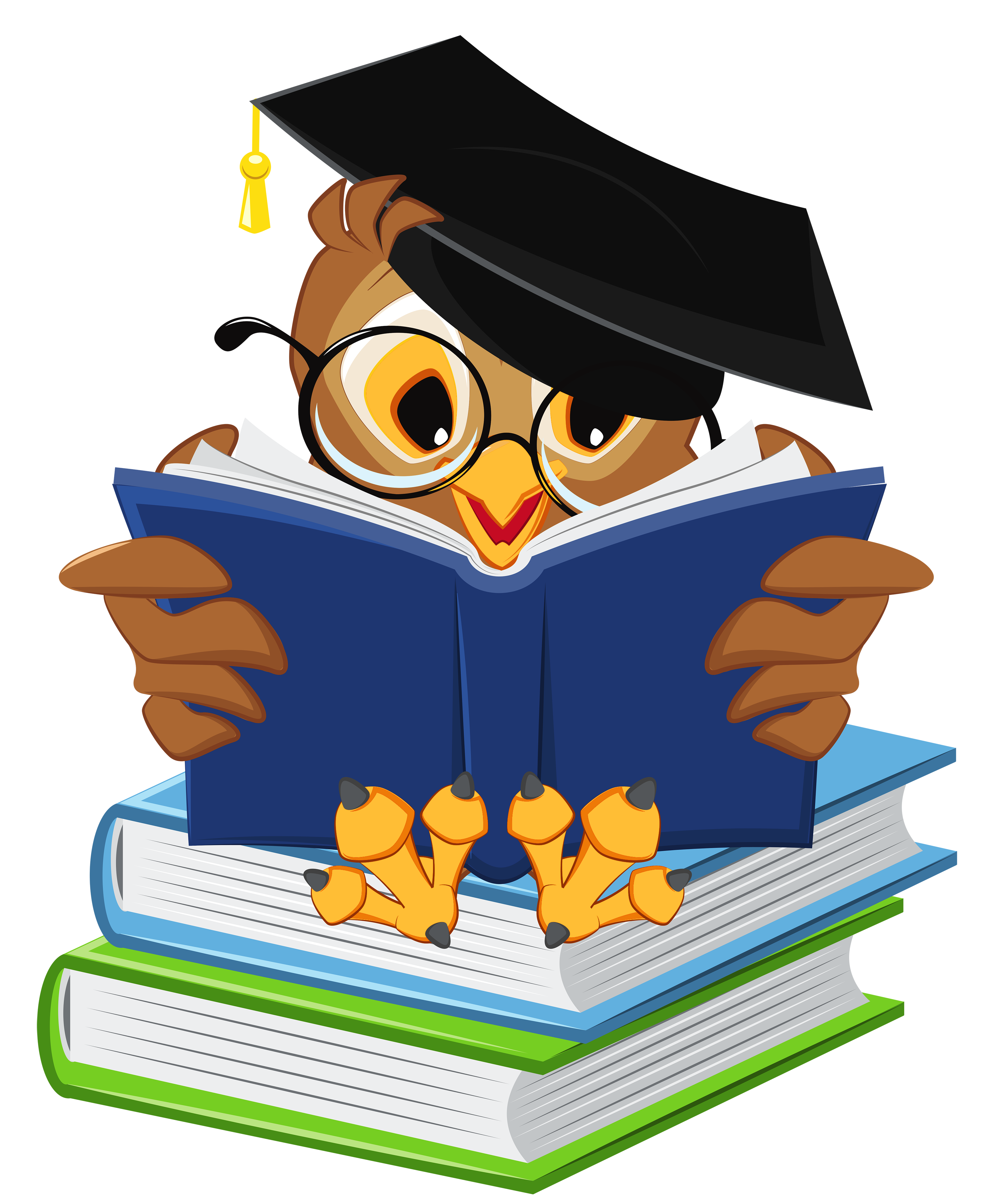 Discover Ideas About Clipart Gallery Owl With School Books