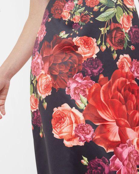 72657baed055a Juxtapose Rose maxi dress - Black