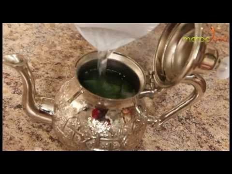 Comment Faire Un The A La Menthe Marocain Marocfood Youtube