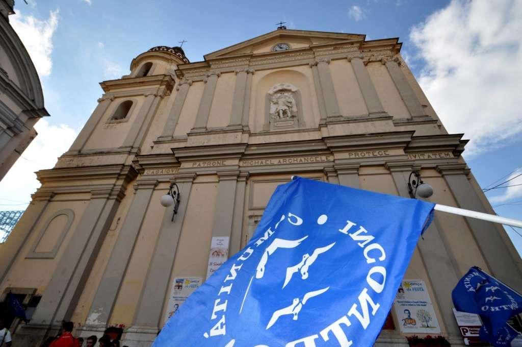 Al via il restauro della facciata della chiesa parrocchiale di San Michele Arcangelo a cura di Antonio Casertano - http://www.vivicasagiove.it/notizie/al-via-restauro-della-facciata-della-chiesa-parrocchiale-san-michele-arcangelo/