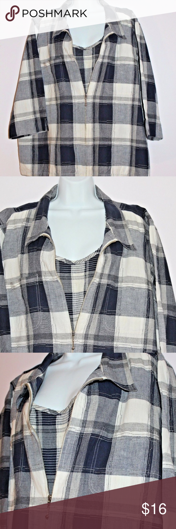 6046f16a Cato carolina colours 28w plus Buffalo Plaid Set Cato Carolina Colours size  28w buffalo plaid blouse