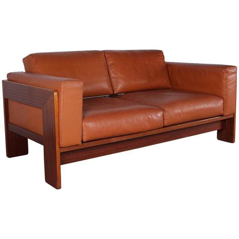 tobia scarpa for knoll bastiano leather sofa leather sofas. Black Bedroom Furniture Sets. Home Design Ideas