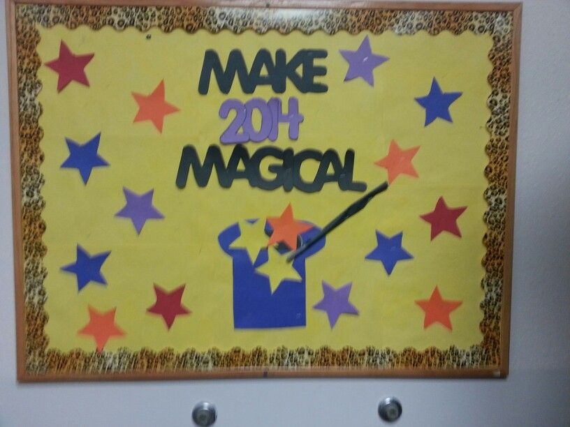 Classroom Ideas For New Years : New year bulletin board ideas pinterest