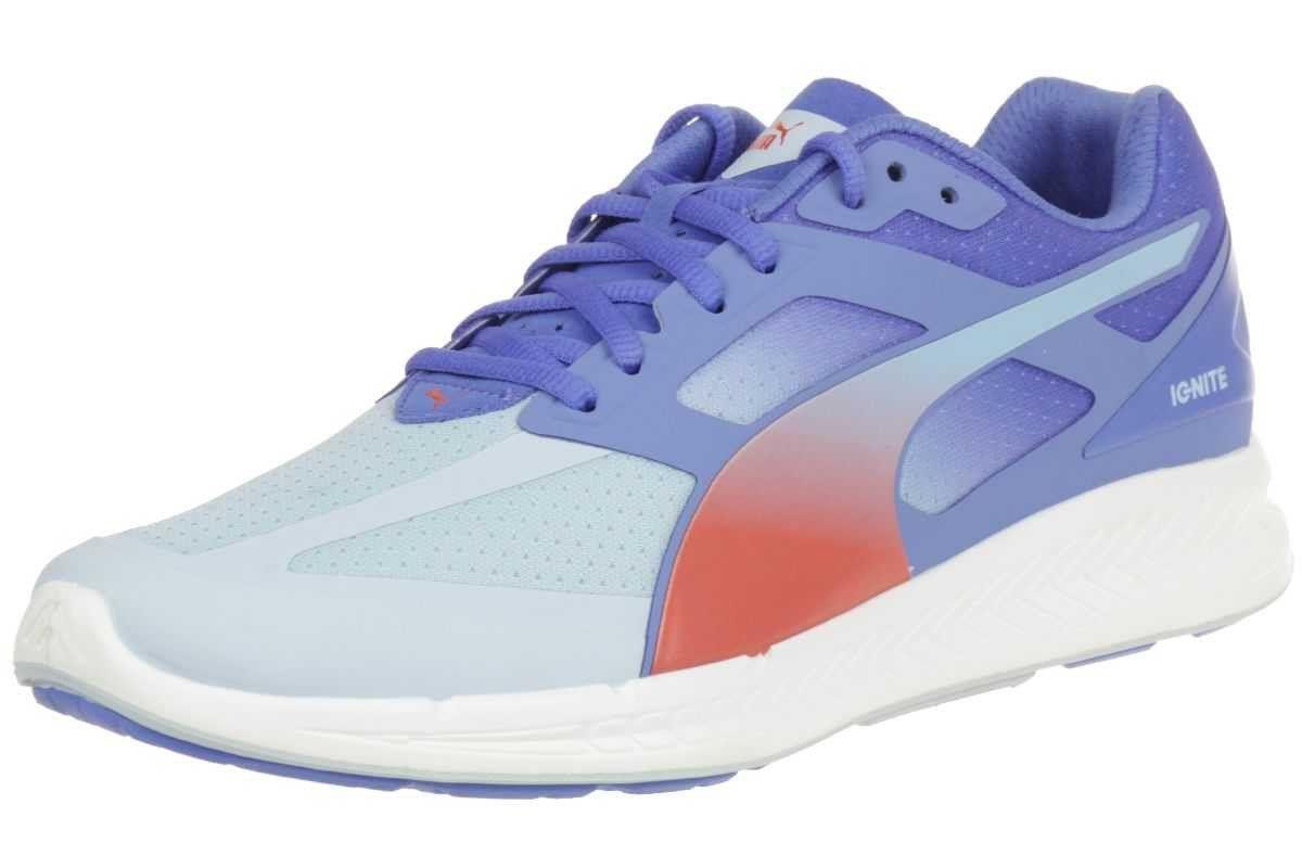 cc772e34eed5 Puma Ignite women Running Shoes Fitness Jogging 188077 01 grey pink shoe  size EUR 41
