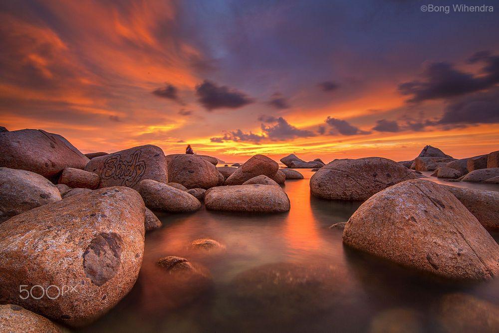 Fire sky by bong wihendra on 500px