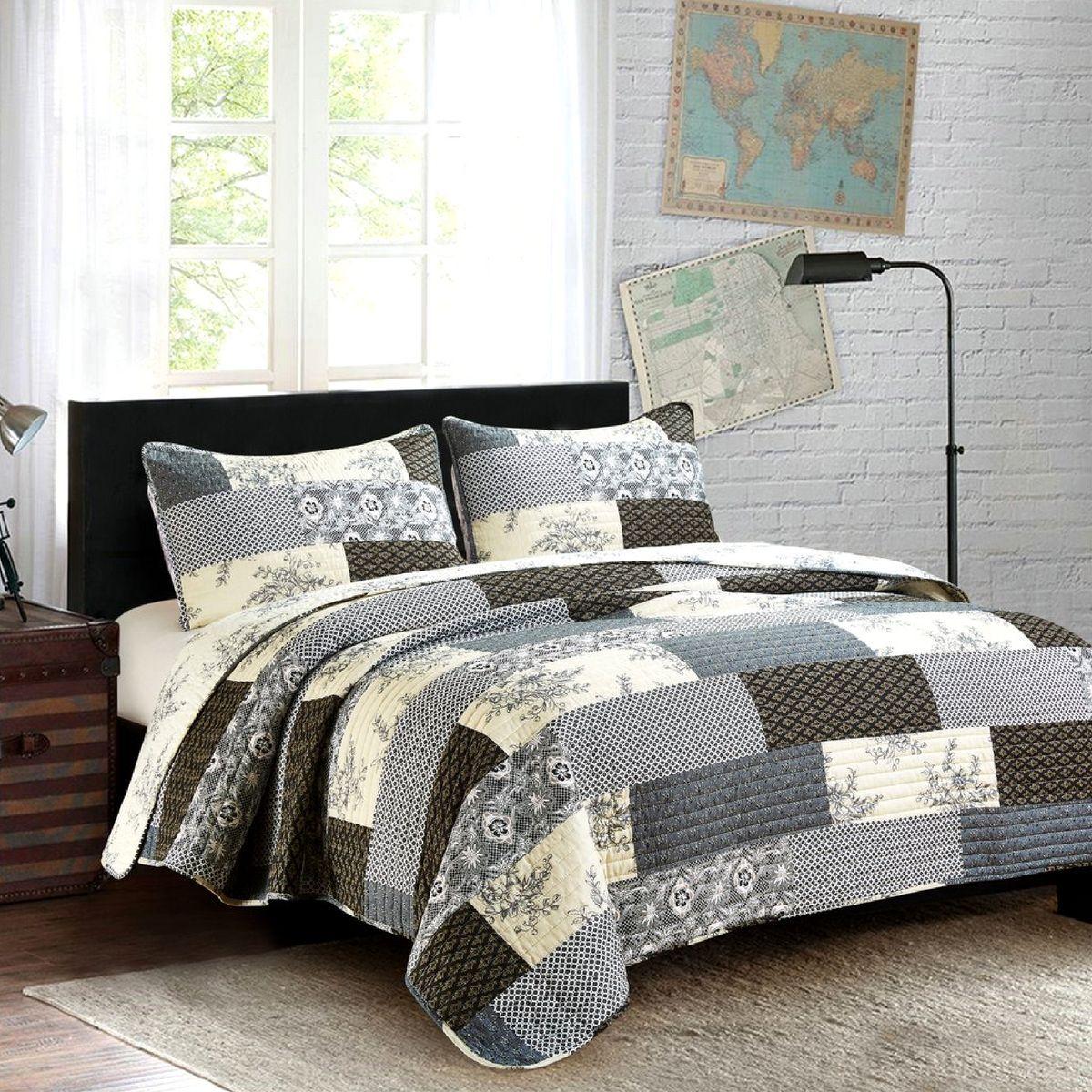 Concord queen quilt set quilt sets bedding farmhouse