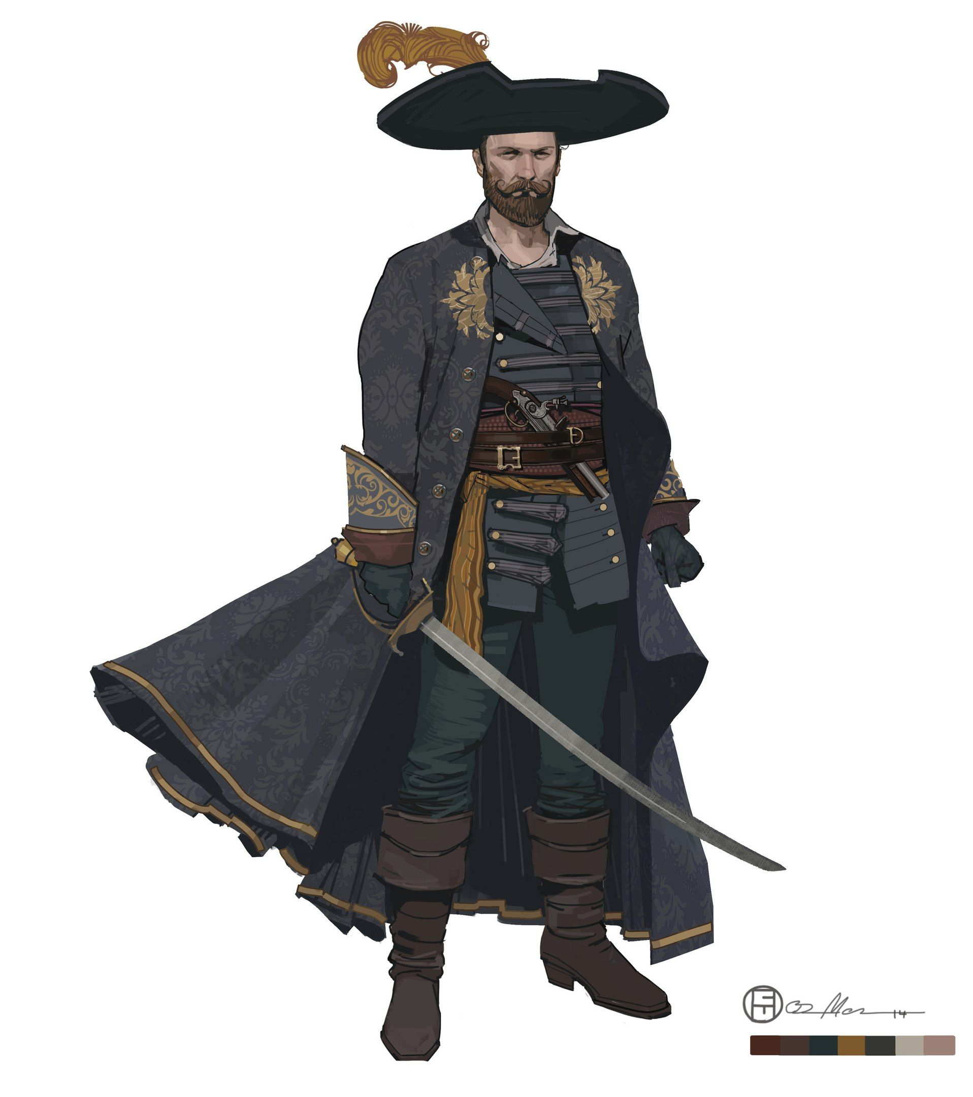 производители капитан пиратов арты встречи
