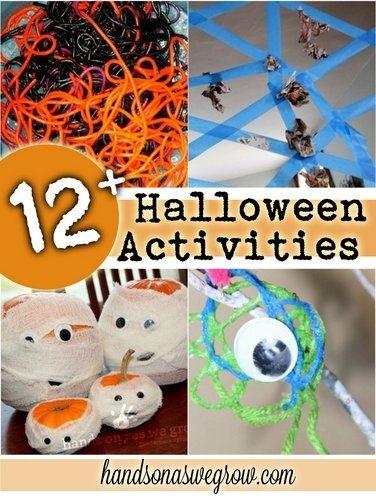12 Halloween Activities for Kids Halloween ideas - halloween activities ideas
