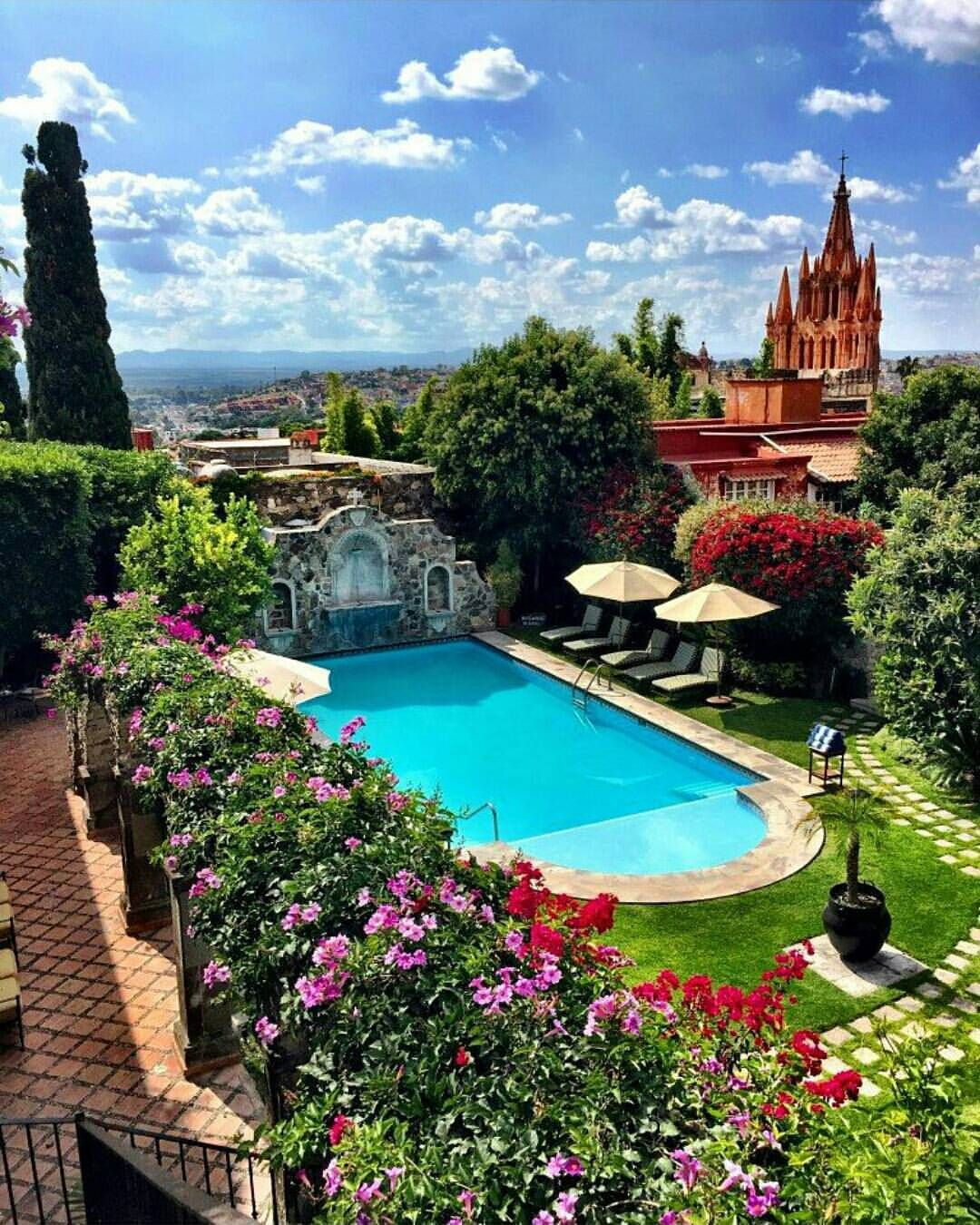 The Dream Hotel On Instagram Belmond Casa De Sierra Nevada Mexico Photography By Carlosmeliab San Miguel De Allende San Miguel Allende San Miguel