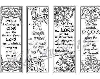 Bible Verse Coloring 1 Page With Door
