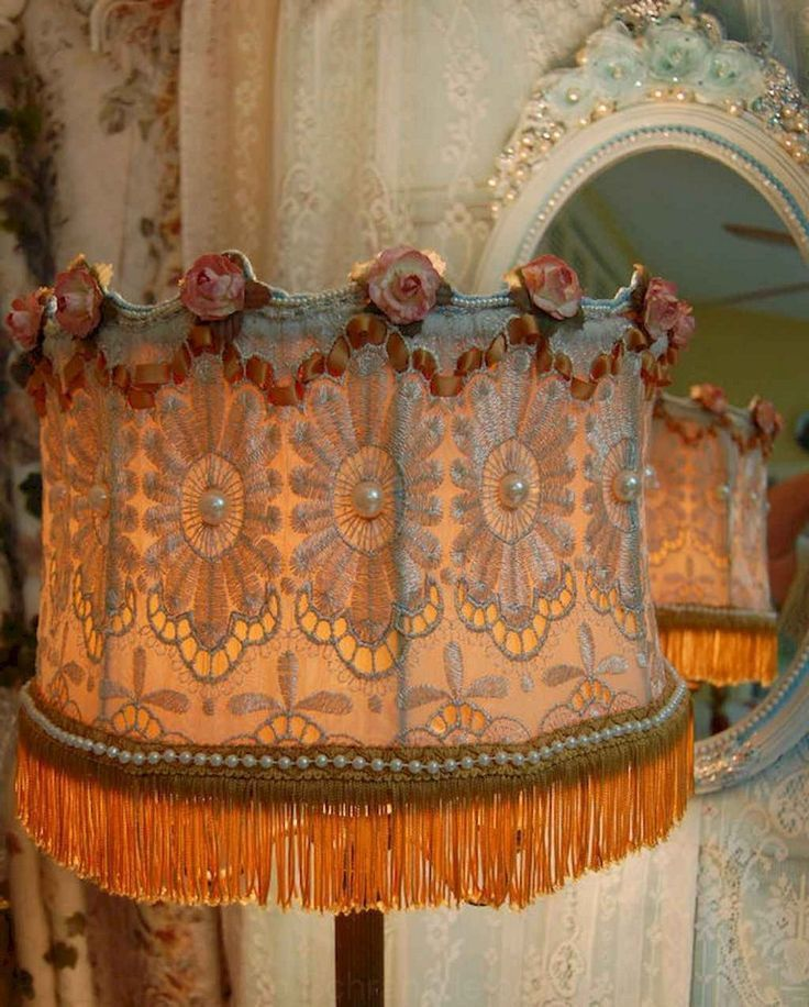 30+Outdated DIY Victorian Lamp Shades Ideas for Decorating ...