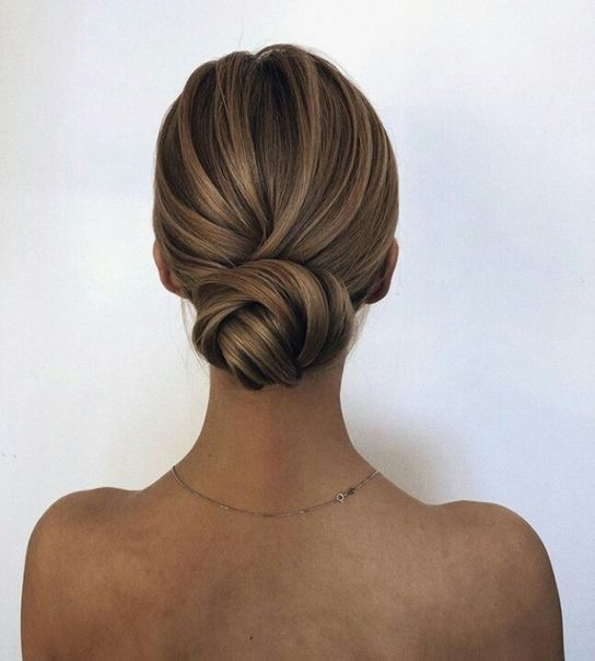 20 Inspiration Low Bun Hairstyles For Wedding 2019 2020: 40 Best Hair Bun Models Of 2019 In 2020