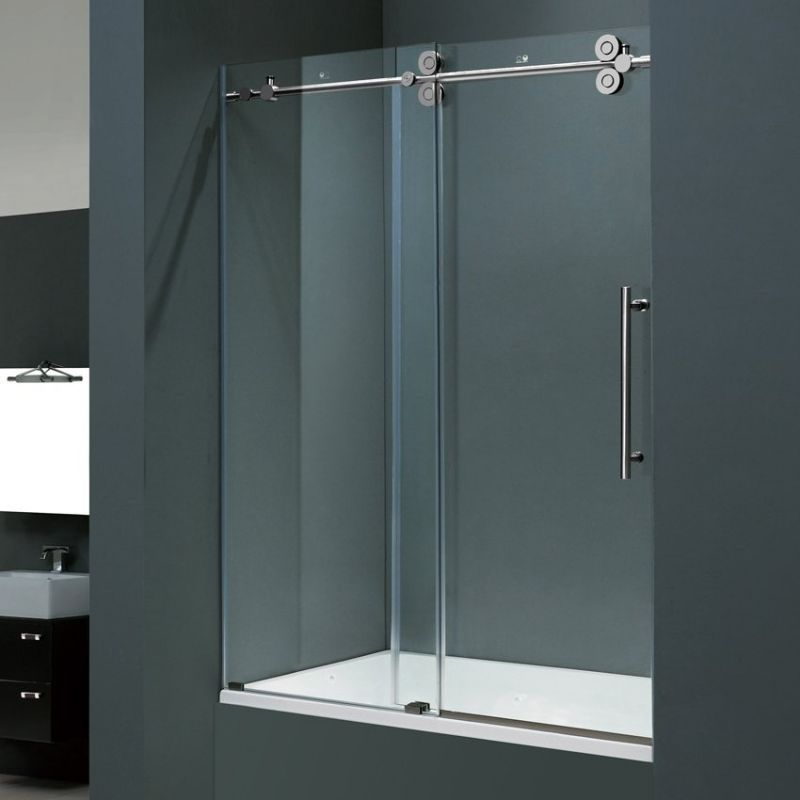 bathtub shower doors slidding : Ultra Modern Bathtub Shower Doors ...