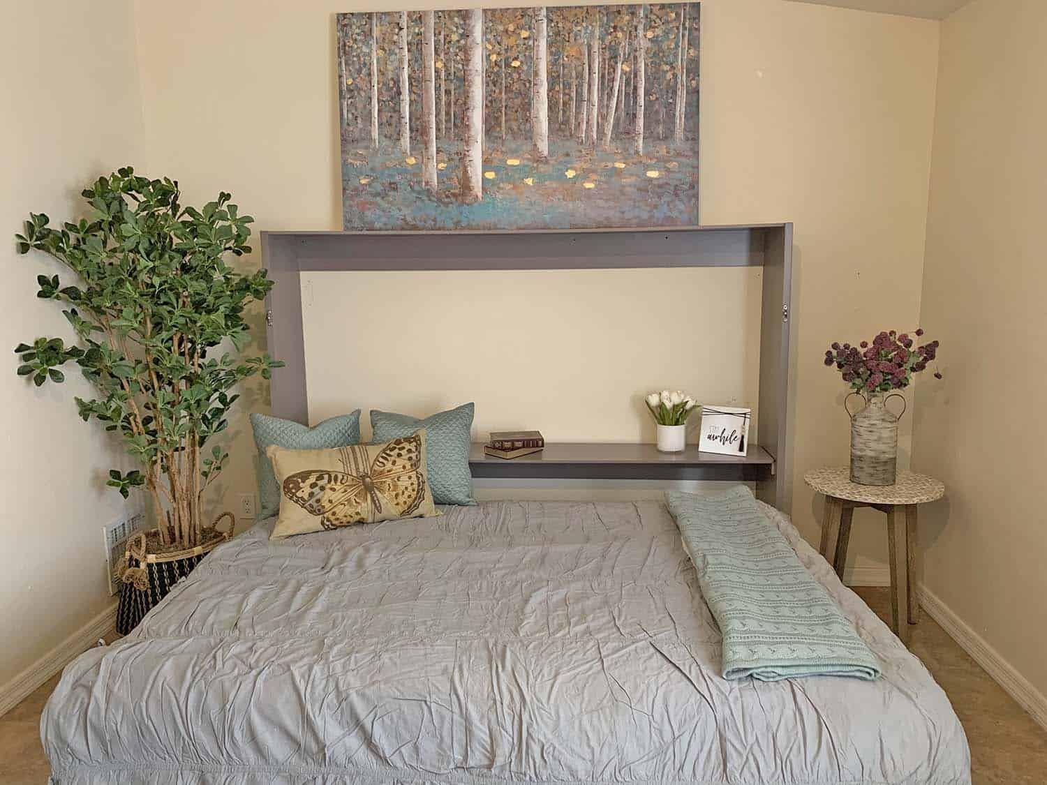 Photo of Take a look at this inexpensive DIY Murphy mattress for small areas