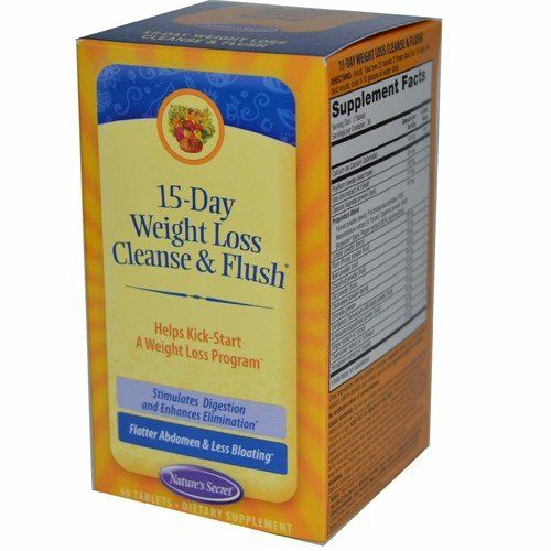 Nature's Secret 15-Day Weight Loss, Cleanse & Flush 60 Tabs Nature's Secret,http://www.amazon.com/dp/B005P0XOW6/ref=cm_sw_r_pi_dp_aWB6sb1R2ZVP4S4S